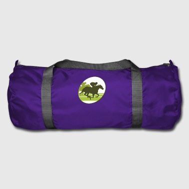 Horse Racing horse race - Duffel Bag