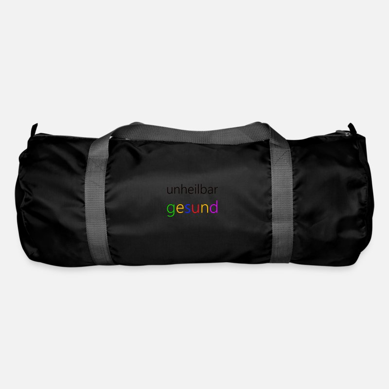 Bless You Bags & Backpacks - Healthy - Duffle Bag black