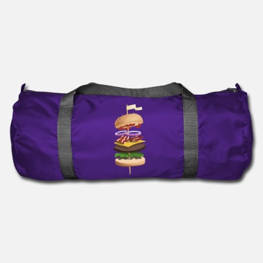 Food Collection Burger illustration - Duffle Bag
