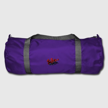 Red Rose Roses red roses - Duffel Bag