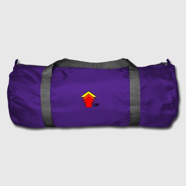 Up Up up steeply up arrow - Duffel Bag