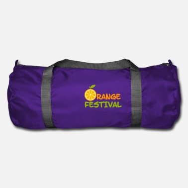 Feast Day Orange feast - Duffle Bag