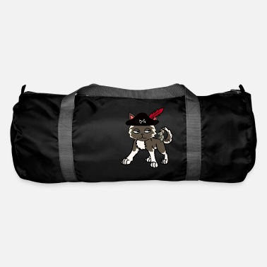 Buccaneer Funny cat pirate buccaneer with mouse - Duffle Bag