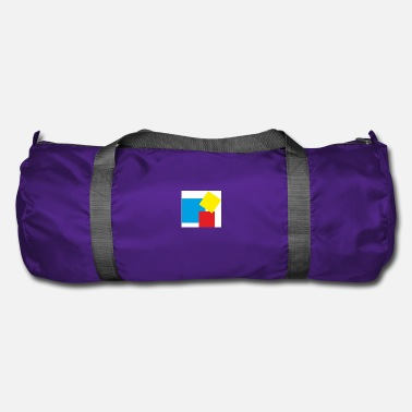 Rectangle rectangles - Sac de sport
