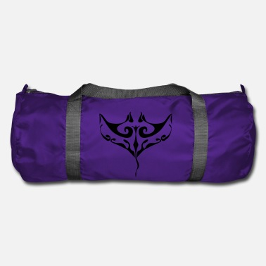 Polynesian Manta ray tatoo - Duffel Bag