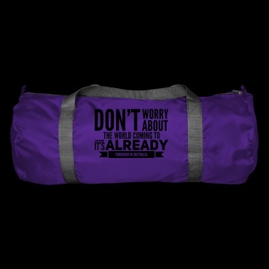 Funny saying end of the world. Worlds End - Duffel Bag