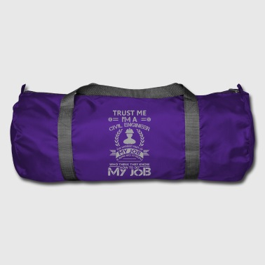 Civil engineer funny sayings - Duffel Bag