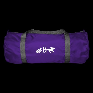 Jockey Evolution horse sport horses race - Duffel Bag
