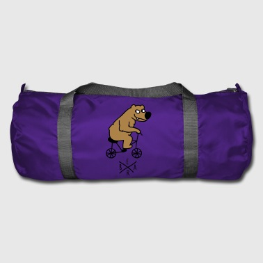 sporty bear - Duffel Bag