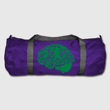 pingpong tennis table brain brain cerv - Duffel Bag