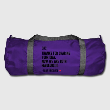 Funny Father's day gift form son and daughter - Duffel Bag