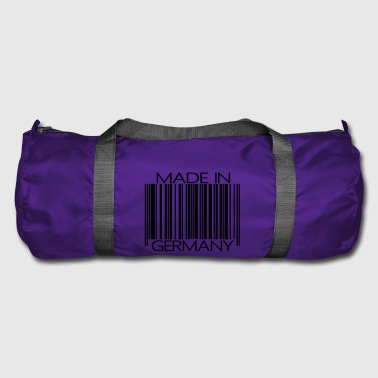 Barcode Made in Germany - Duffel Bag