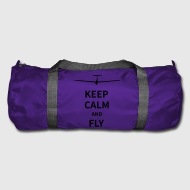 Keep calm and fly - Sporttasche
