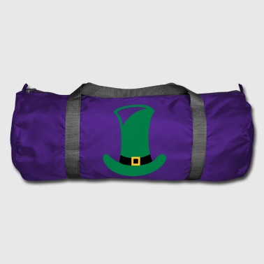 Green top hat for St. Patrick's Day gift - Duffel Bag