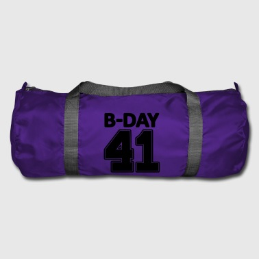 Number 41 years 41st birthday number number numbers - Duffel Bag
