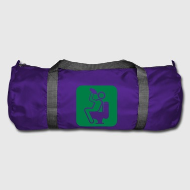 drink4 drink alcohol toilet chiotte wc d - Duffel Bag