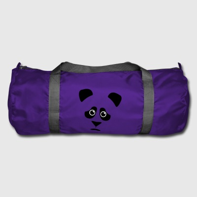 sad panda - Duffel Bag