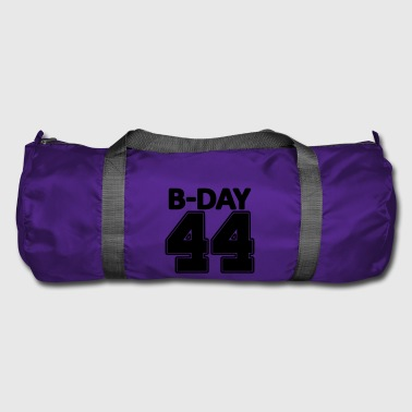 44 years number number 44th birthday numbers jersey - Duffel Bag