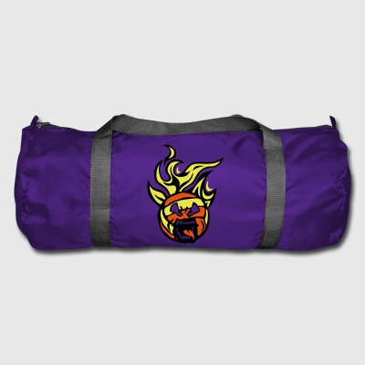 volleyball waterpolo cartoon 01 face flam - Duffel Bag