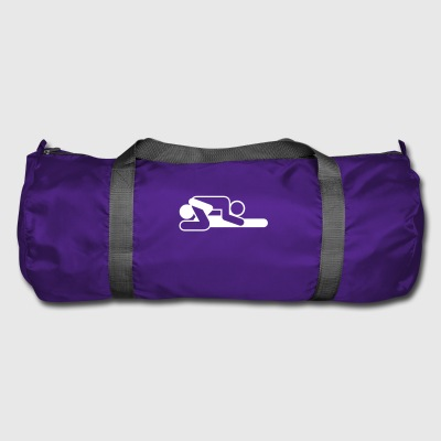 A Couple In 69 Position - Duffel Bag