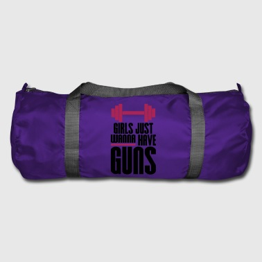 Girl Just Wanna Guns Gym Fitness - Duffel Bag