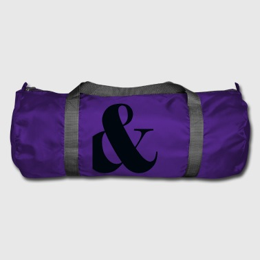 and, plus, punctuation, - Duffel Bag