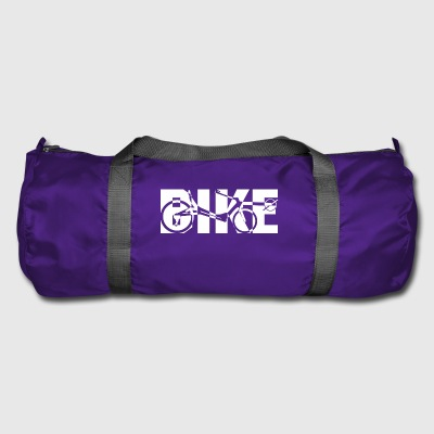 BIKE recliner x white - Duffel Bag