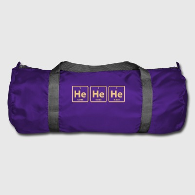 Science Chemical He He He Laughing Gas Funny Gift - Duffel Bag