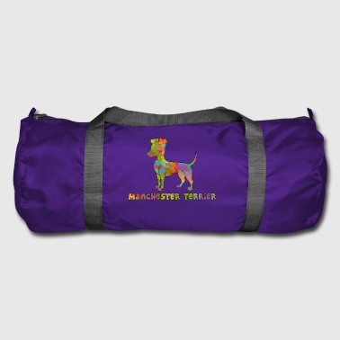 Manchester Terrier Multicolored - Duffel Bag