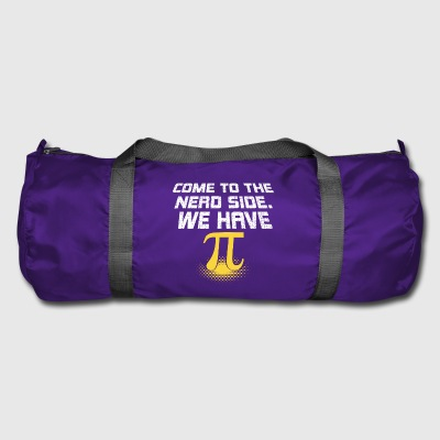 Nerds Come to the Nerd Side. We have Pi! - Duffel Bag