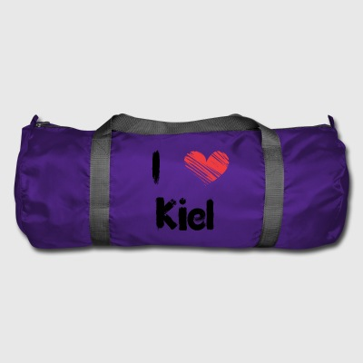 I love Kiel - Duffel Bag