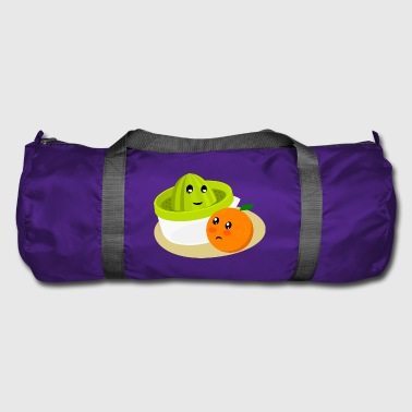 Orange and juicer II. Orange juice - Duffel Bag