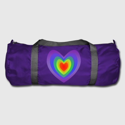 Gay Heart Flag - Sportstaske