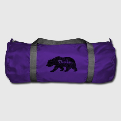 Brother Bear Camping Gifts. Gifts for brother.SALE - Duffel Bag