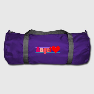 Angel and heart - Duffel Bag