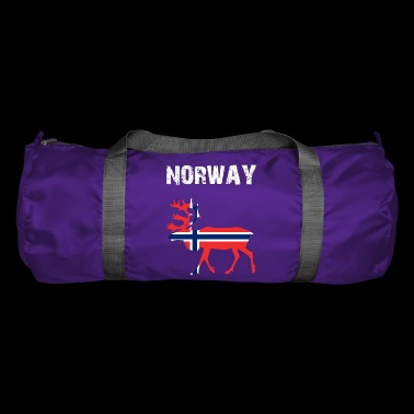 Nation-Design Norwegia Renifer QD7 - Torba sportowa