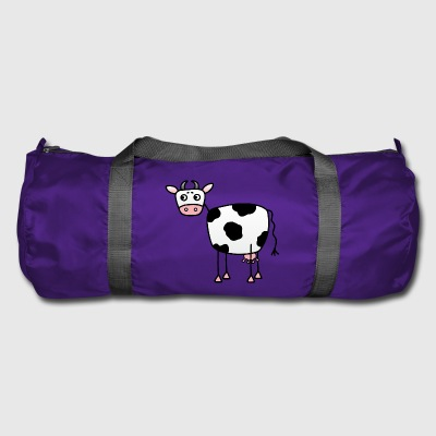 Funny cow with udder - Duffel Bag