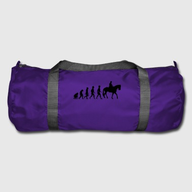 riding rider evolution horses riding cowboy2 - Duffel Bag