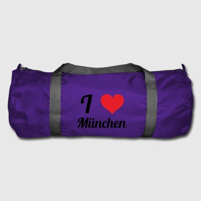 i love munich - Duffel Bag