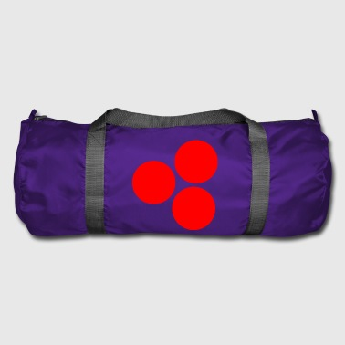 cercles rouges - Sac de sport