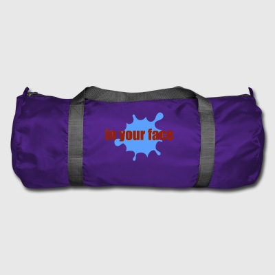 in your face - Duffel Bag