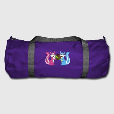 easter squirrels - Duffel Bag