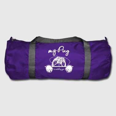 PUG watching - Duffel Bag