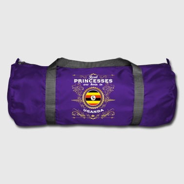 PRINCESS PRINCESS QUEEN BORN UGANDA - Duffel Bag