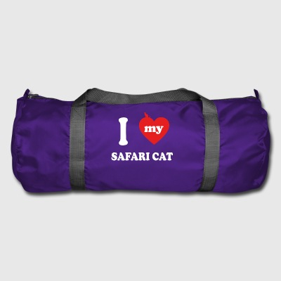 amo gatos gordos SAFARI CAT - Bolsa de deporte