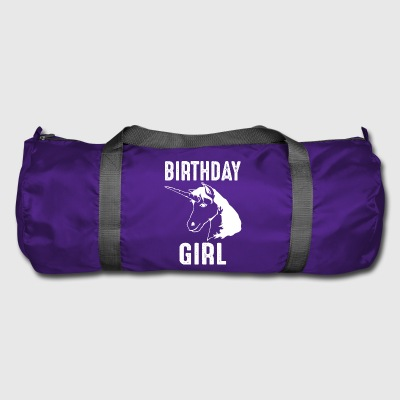 Unicorn Birthday Girl Birthday Girl - Sportsbag