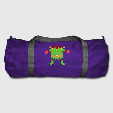 Christmas Elf Costume - Duffel Bag