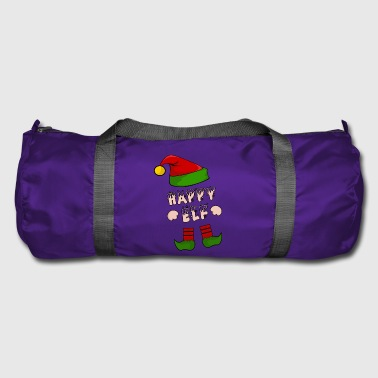 Happy Elf - Happy Elf - Xmas Gift - Duffel Bag