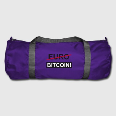 Euro Bitcoin - Duffel Bag