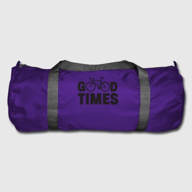 Cycling good times - Duffel Bag